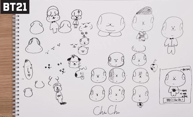 グク キャラクター 画像