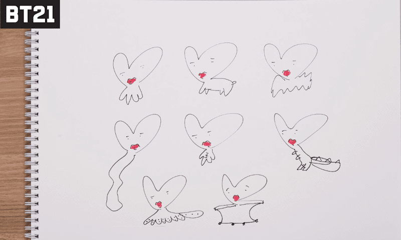 Bts絵の実力メンバー自身が描いたイラスト集 Btsファンのゆるブログ