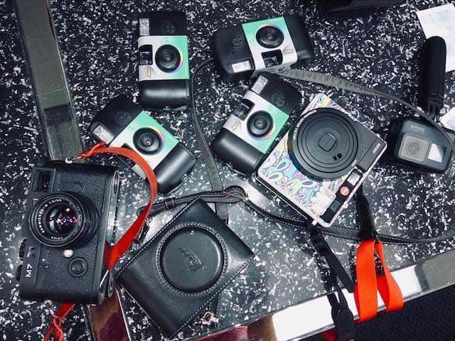 WINNERメンバーが持っているカメラ情報